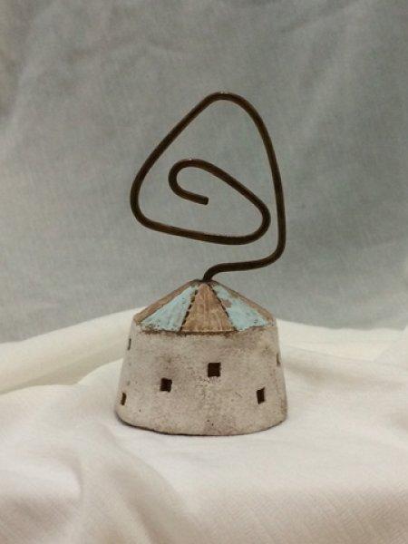 小さなパオのカードホルダー 3