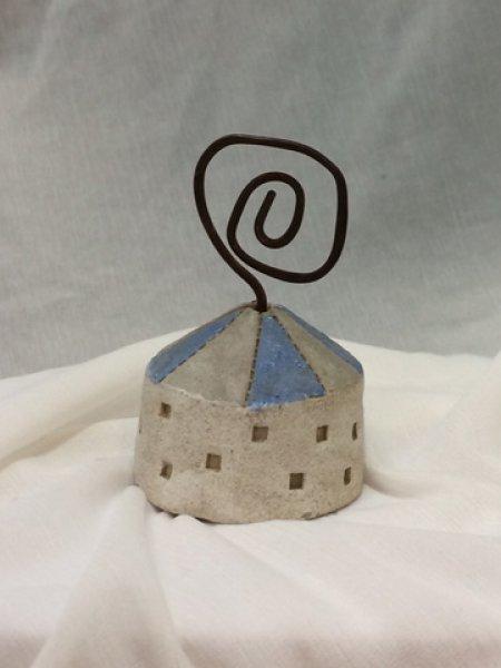 小さなパオのカードホルダー 2