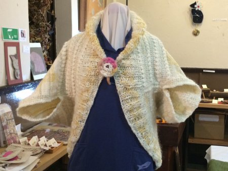 hana*衣 生成り編み、織り
