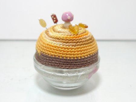 pin Q shion(針山)きのこ山・茶