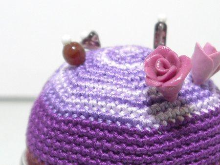 pin Q shion(針山) 薔薇山・紫