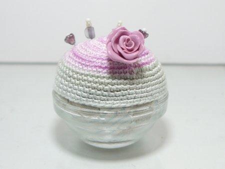 pin Q shion(針山)  薔薇山・薄紫