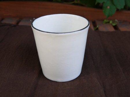 白のフリーカップ