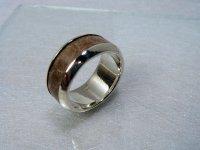 silver925 シースネーク(ウミヘビ)のリング