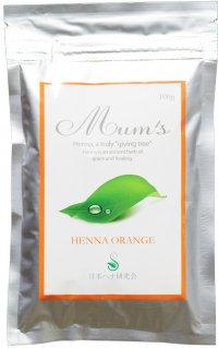 Mum's henna orange 500g   お徳な業務用!!