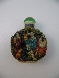 鼻煙壺 陶器製