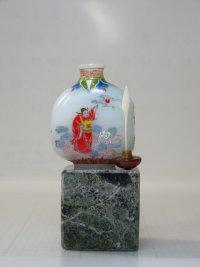 鼻煙壺 ガラス製